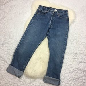 Levi's 501 High-Waisted Jeans